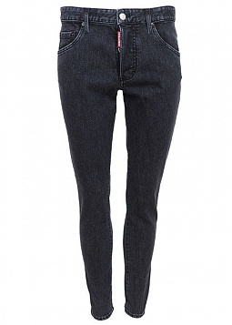 DSQUARED 2 ДЖИНСЫ SKINNY Т/СЕРЫЕ, Ш=13